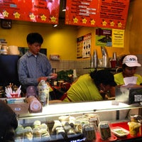 Photo taken at Small Peace Soup & Smoothie by Katrina M. on 4/24/2013