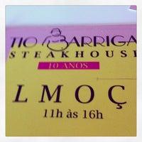 Photo taken at Tio Barriga Steakhouse by Christiane M. on 6/11/2013
