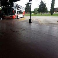 Photo taken at Terminal de Omnibus Pergamino by Dario E. on 11/2/2013