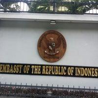 Photo taken at Kedutaan Besar Republik Indonesia by Nuruddin O. on 9/9/2014