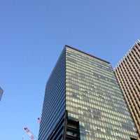 Photo taken at Tokyo Sankei Building by kin_k on 10/31/2012