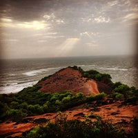 Photo taken at Chapora Fort by Pooja V. on 5/18/2013