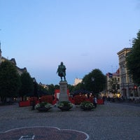 Photo taken at Stortorget by Suncheol G. on 7/2/2014