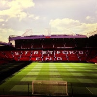 Photo taken at Old Trafford by Faisal B. on 6/23/2013