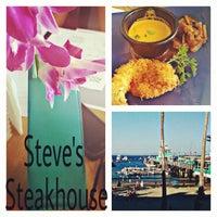 Photo taken at Steve's Steakhouse by Erin E. on 8/28/2015