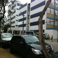 Photo taken at Universidade Santa Cecília (Unisanta) by Raul S. on 2/14/2013