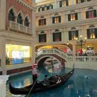 Photo taken at The Venetian Macau Resort by blitzkriëg on 11/3/2012