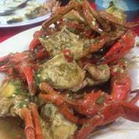 Photo taken at William's Crab Restaurant by Kavitha S. on 5/11/2014