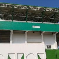 Photo taken at Stade Slaheddine Bey (CSHL) by Khalil L. on 4/14/2014