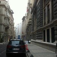 Photo taken at Bankalar Caddesi by Kasım MUCCO on 2/16/2013