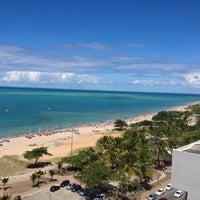Photo taken at Radisson Hotel Maceio by Fábio B. on 4/21/2013