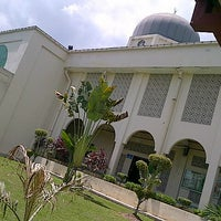 Photo taken at Masjid Al-Hasanah by Muhammad S. on 2/23/2013