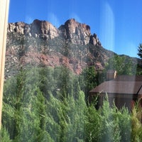 Photo taken at Best Western Zion Park Inn by Jennifer A. on 9/27/2013