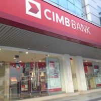 Photo taken at CIMB Bank by Cat'z F. on 5/11/2013