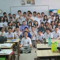 Photo taken at SMA Methodist 2 Medan by Denny W. on 5/23/2014