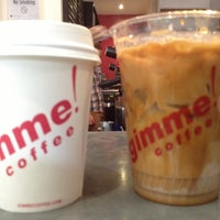 Photo taken at Gimme! Coffee by Ann-Sophie F. on 5/8/2013