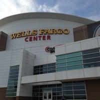 Photo taken at Wells Fargo Center by Sarah B. on 6/24/2013