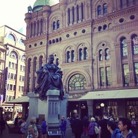 Photo taken at Queen Victoria's Statue by Peter M. on 9/4/2013