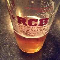 Photo taken at Rocky Coast Brewing at Post Road Tavern by Chris B. on 5/10/2014