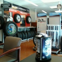 Photo taken at Firestone Complete Auto Care by Winnie F. on 10/8/2013