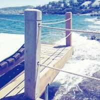 Photo taken at Kırmızı Değirmen Beach by Zeliha D. on 8/9/2014