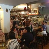Photo taken at Cafe Mogador by Jason K. on 7/4/2013