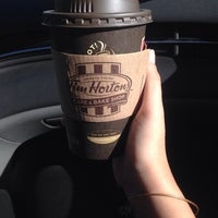 Photo taken at Tim Hortons by Dianna P. on 9/7/2014