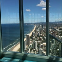 Photo taken at SkyPoint Observation Deck by Pete M. on 10/12/2012