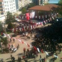 Photo taken at Cumhuriyet Meydanı by Burak A. on 4/23/2013