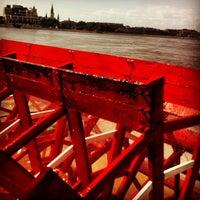 Photo taken at Steamboat Natchez by Johanna B. on 5/7/2013