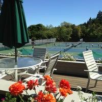 Photo taken at Alpine Hills Tennis & Swimming Club by Eric W. on 4/9/2013