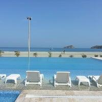 Photo taken at Tamacá Beach Resort Hotel by Leonardo L. on 7/15/2013