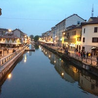 Photo taken at Naviglio Grande by rafaneves on 4/26/2013