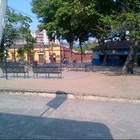 Photo taken at Plaza Bolívar de Naguanagua by Deibizon A. on 2/23/2013