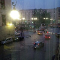 Photo taken at Piazza Libertà by Lilli on 2/21/2013