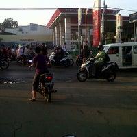 Photo taken at SPBU 34-15417 Vila Dago by Ummu H. on 11/29/2012