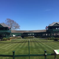 Photo taken at International Tennis Hall of Fame by Daria L. on 4/17/2016