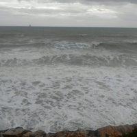 Photo taken at Playa de Fuentebravía by Inma d. on 3/31/2013