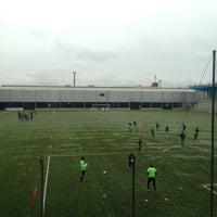 Photo taken at Estádio Passo D'Areia (Zequinha) by Guilherme d. on 7/20/2013