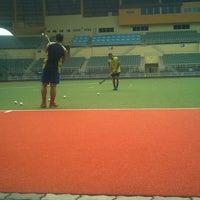 Photo taken at Stadium Hoki Nasional by faiz_hairudin on 3/9/2013