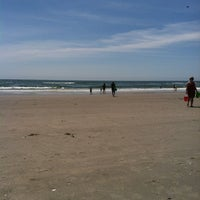 Photo taken at 44th street beach by Lisa H. on 6/22/2013