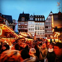 Photo taken at Frankfurter Weihnachtsmarkt by Carsten K. on 12/16/2012