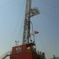 Photo taken at GREENECO ENERGY GRN 9 JEOTERMAL ARAMA SAHASI by Nihat S. on 8/13/2014