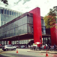 Photo taken at São Paulo Museum of Art by Rafael A. on 2/17/2013