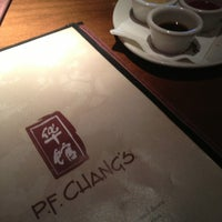 Photo taken at P.F. Chang's by Jennifer W. on 1/19/2013