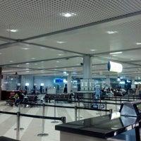Photo taken at Terminal F (KBP) by Maksim P. on 2/27/2013