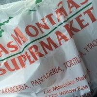 Photo taken at Las Montaña Super Market by Kincaid W. on 4/1/2014