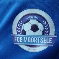 Photo taken at FC Moortsele by Ulrik ✈. on 10/3/2014