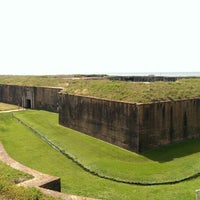 Photo taken at Fort Morgan State Historic Site by Ulrik ✈. on 5/26/2014