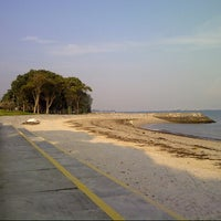 Photo taken at East Coast Park by Nath B. on 9/18/2012